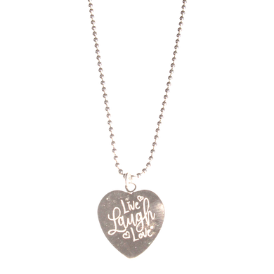 Necklace Indy Live Laugh Love - Joy Jewellery Bali