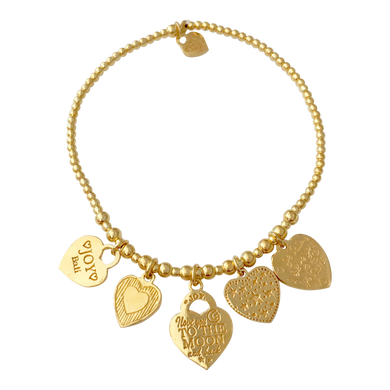 Bracelet Buzios Gold - Joy Jewellery Bali