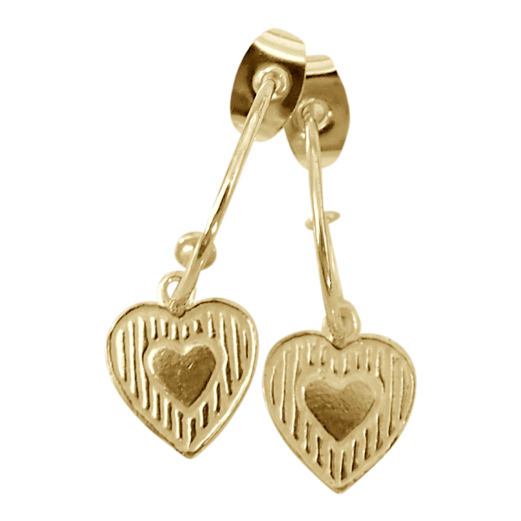 Earring Bonita Corazon Gold - Joy Jewellery Bali