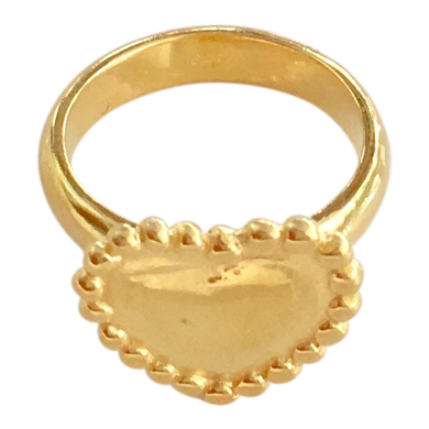 Ring Alegria Motif Gold
