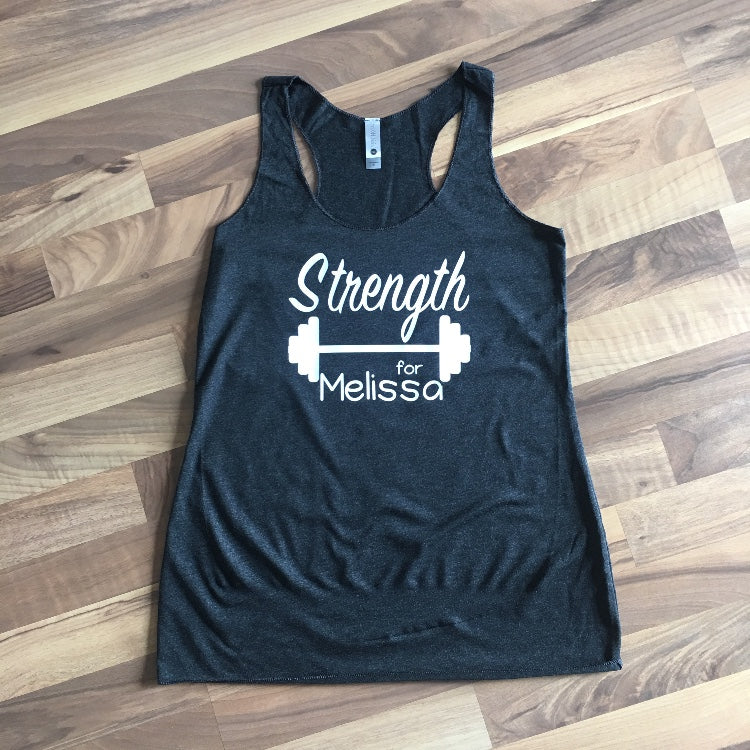 Strength for Melissa - Womens Tank