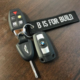 B is for Build - Keytag