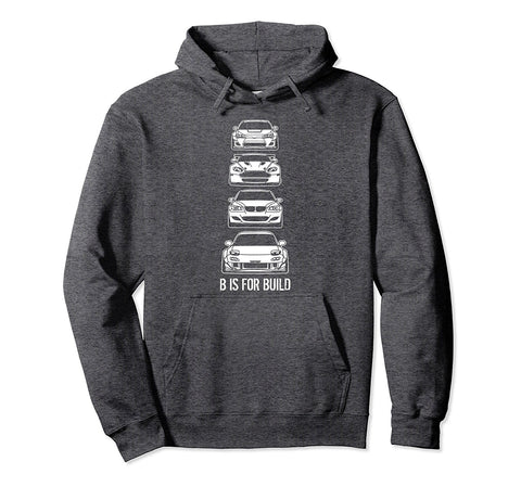 Stacked Builds Hoodie