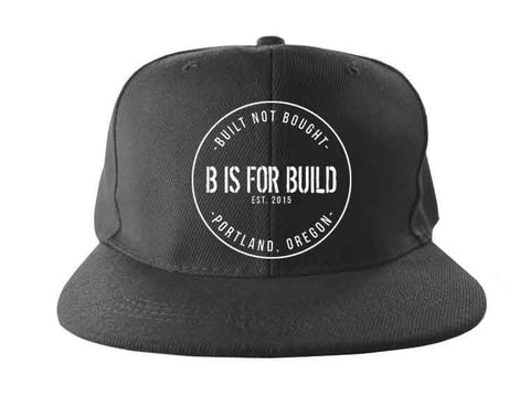 B is for Build V2 Snapback