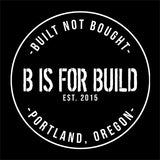 B is for Build Logo T-Shirt