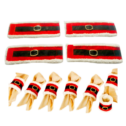 Christmas Napkin Holders (8pcs)
