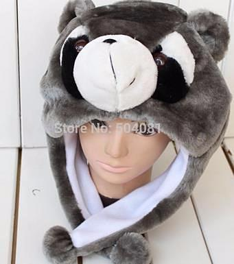 Kid's Plush Animal Winter Hats