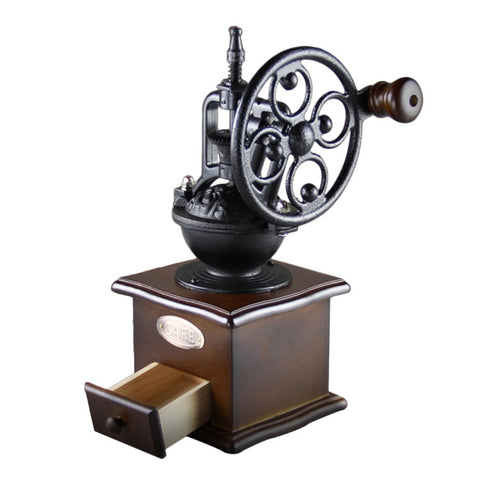 Wheel Style Vintage Manual Coffee Grinder