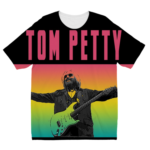 Farewell Tom Petty Kids Sublimation TShirt