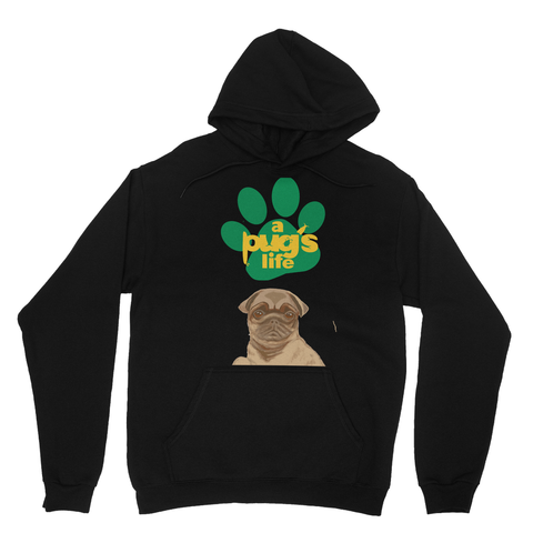 A Pug's Life Heavy Blend Hooded Sweatshirt