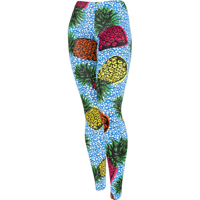 Pineapple Crush Fiesta Activewear Leggings London Devine