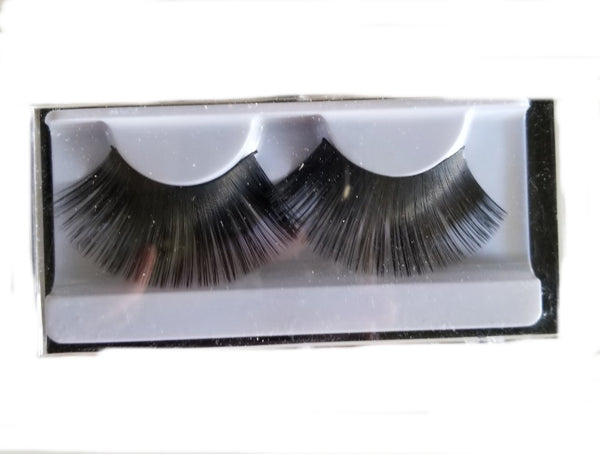 Sheer Swim Black Heavy False Eyelashes Long Thick Drag Queen Falsies Eye Lashes Extensions for Costume Cosplay Stage Makeup