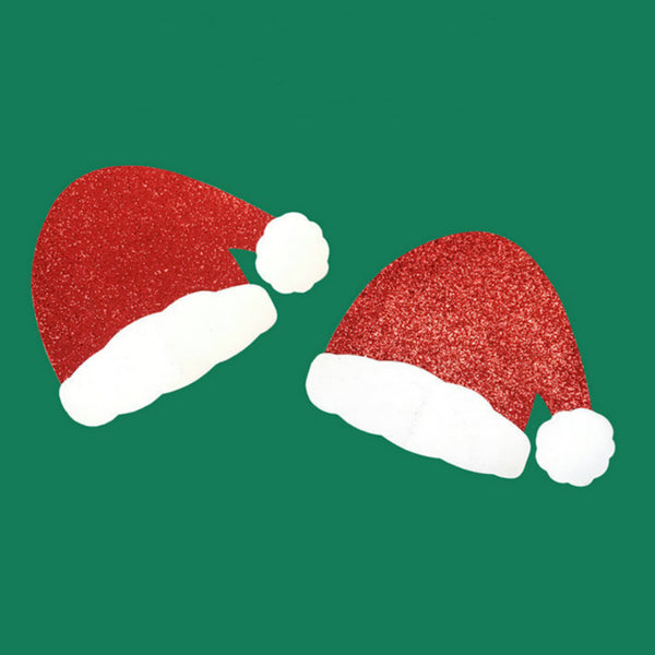 Christmas Hat Pasties Embellished