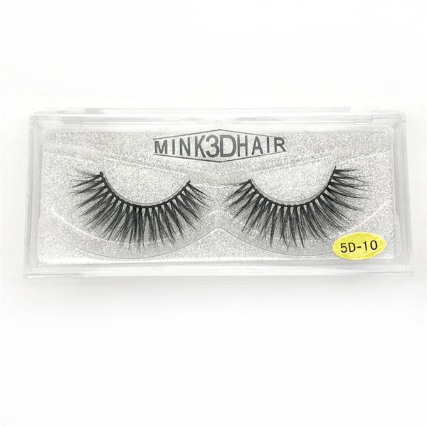 Sheer Swim Black Eyelashes Long Thick Drag Queen Falsies Eye Lashes Mink Extensions for Costume Cosplay Stage Makeup