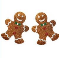 Gingerbread Man Pasties Embellished