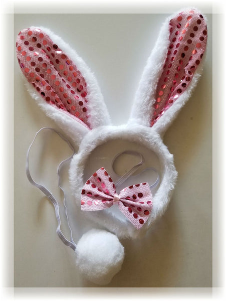 Pink Bunny Adult Costume