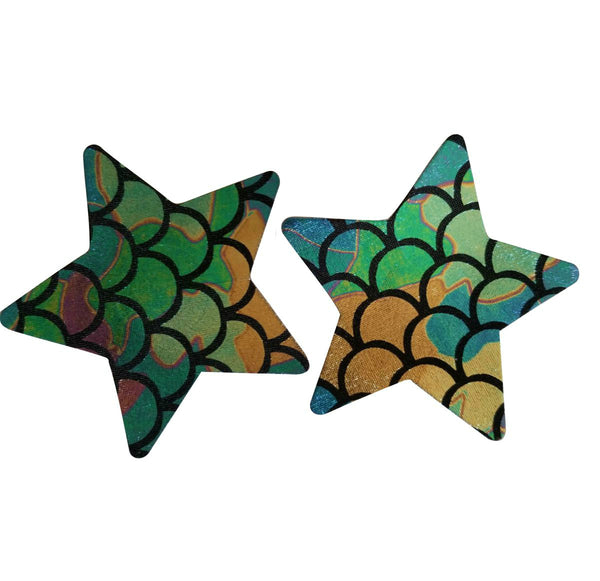 Embellished Star Mermaid Pasties