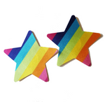 Rainbow Star Pasties