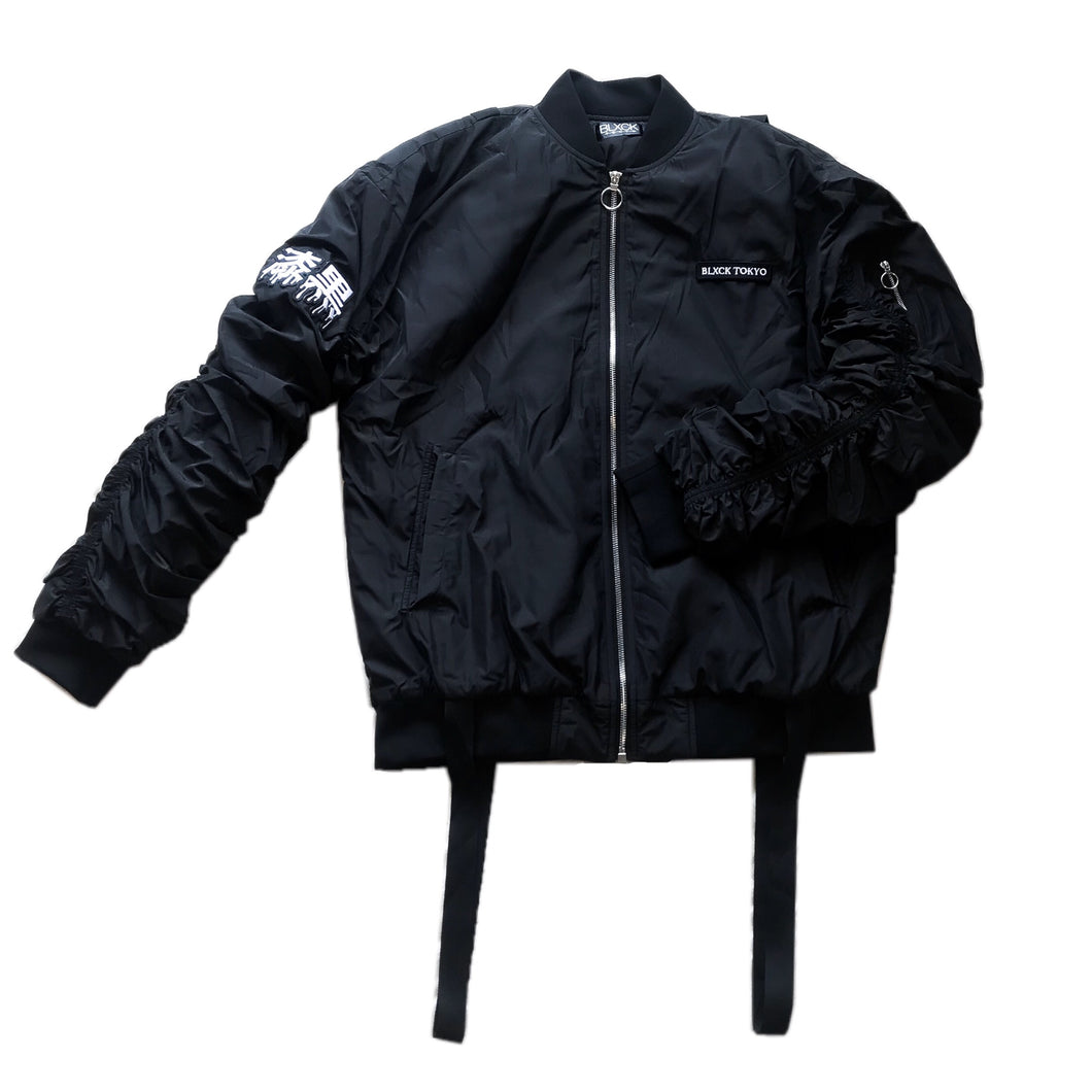 漆黒 Parachute Bomber Jacket - COMING SOON