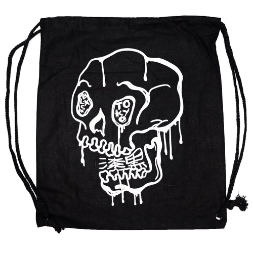 Skull Canvas Bag