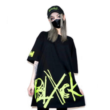 Logo Tee (Black x Lime)