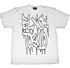 White Graffiti Tee