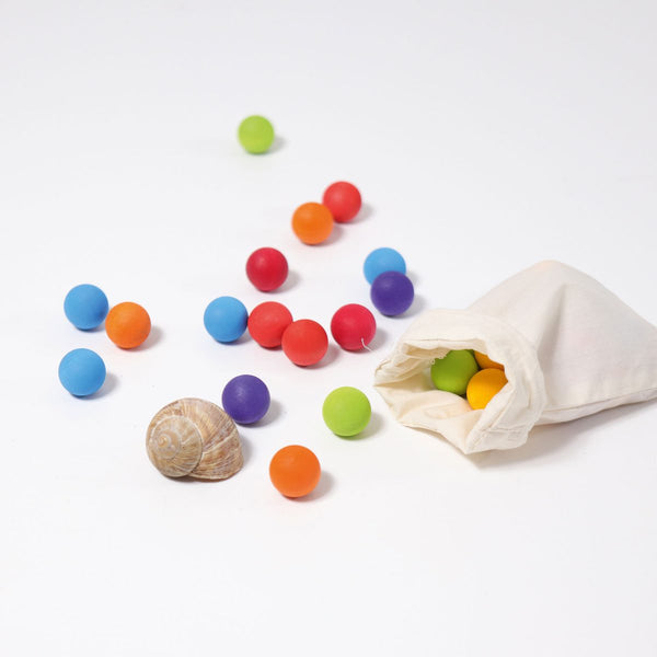 Grimm's Marbles Coloured In Bag
