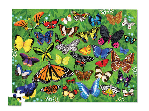 36 Animal Puzzle 100 pc - Butterflies