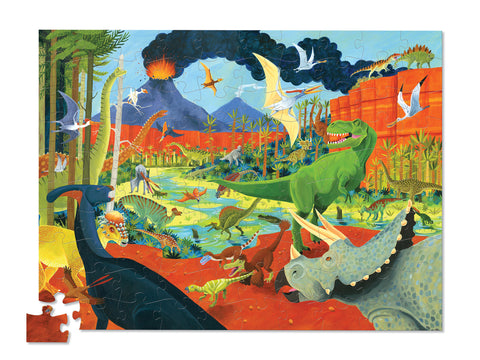 36 Animal Puzzle 100 pc - Dinosaurs
