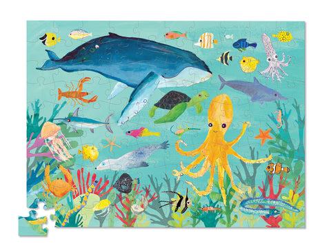 36 Animal Puzzle 100 pc - Ocean Animals