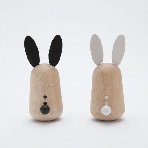 Usagi Wooden Rabbit Friends