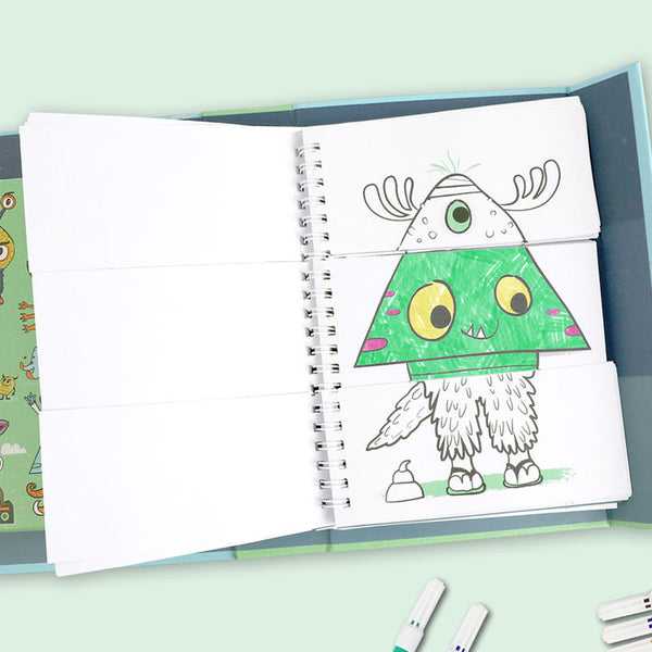 Mash-Up Colouring Set Monster Mash