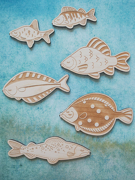 Plenty of Fish in the Sea Magnetic Puzzle