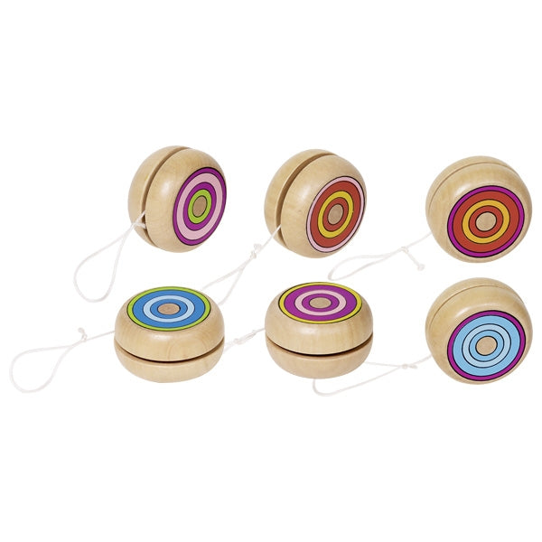 Yo-Yo with Colourful Rings - Individual