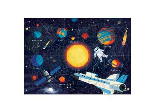 70 Pc Geography Puzzle Solar System