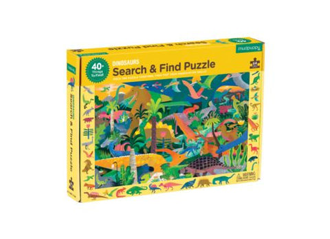 64 pc Search & Find Puzzle Dinosaur