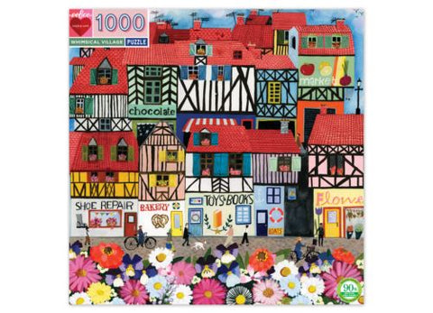 1000 Pc Puzzle Whimsical Village