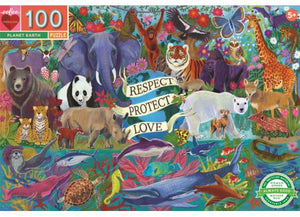 100 Pc  Puzzle Planet Earth