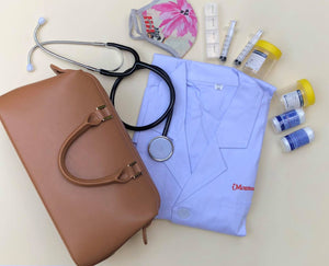 Montessori Medic Doctor Kit Tan