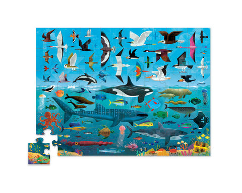 Above & Below Puzzle 48 pc - Sea and Sky