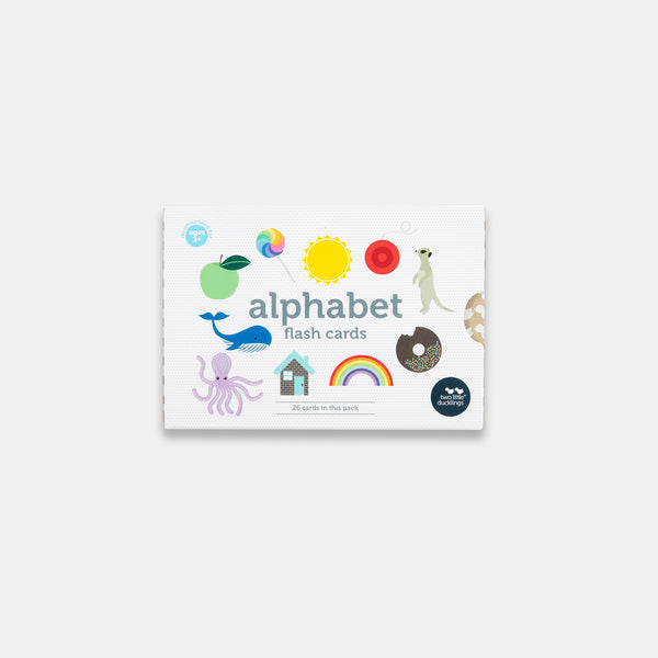 Alphabet Flash Cards in New Packaging