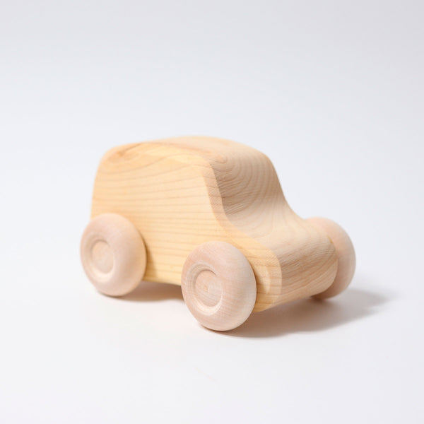 Small Cars Natural (Set of 6)