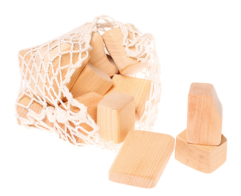 Natural Waldorf Blocks 15 pcs
