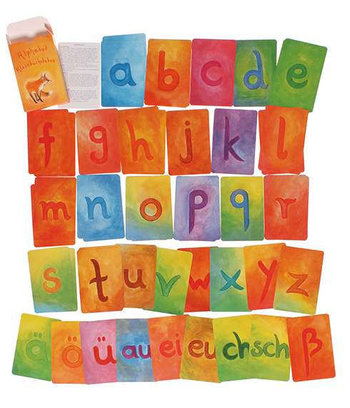 Grimm's Alphabet Cards Lower Case