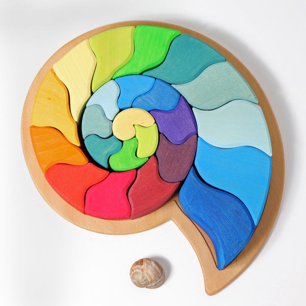 Snail Puzzle (Building Set Ammonite)