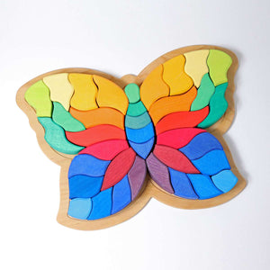 Butterfly Building Set and Puzzle 37 Pcs