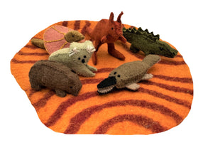 Aussie Animals and Outback Mat Set