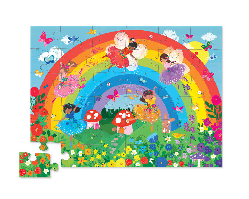 Classic Floor Puzzle 36 pc - Rainbow