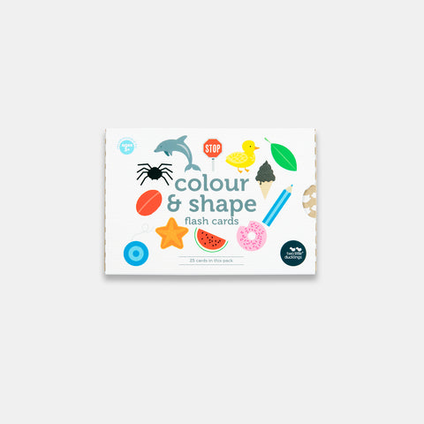 Colour and Shape Flash Cards in New Packaging