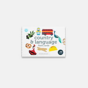 Country and Language Flash Cards in New Packaging